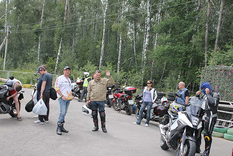 Тестдрайв мотоциклов